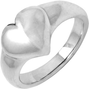 Fingerring Heart